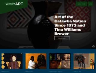 columbiamuseum.org screenshot