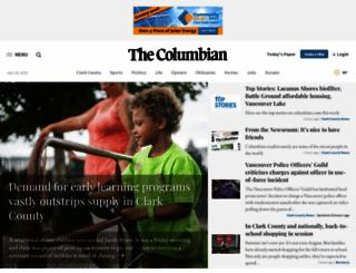 columbian.com screenshot