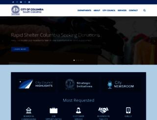 columbiasc.gov screenshot