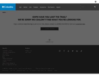 columbiasportswear.pl screenshot