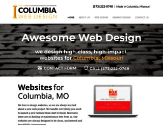 columbiawebdesign.net screenshot