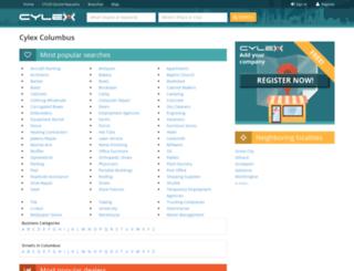 columbus.cylex-usa.com screenshot