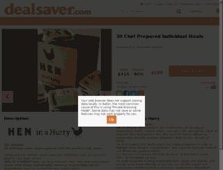 columbus.dealsaver.com screenshot