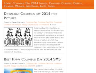 columbusday2014wi.com screenshot