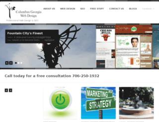 columbusgawebdesign.com screenshot