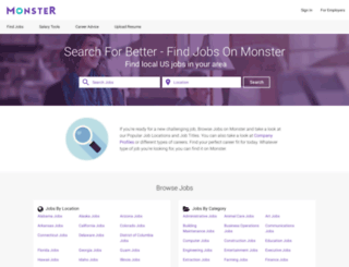 columbusjobs.monster.com screenshot