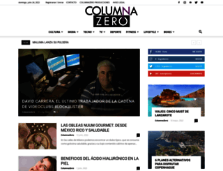 columnazero.com screenshot