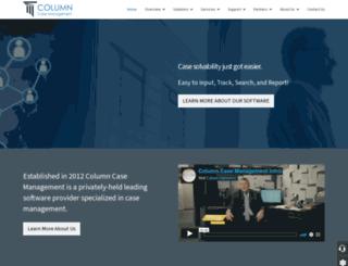 columncaseinvestigative.com screenshot
