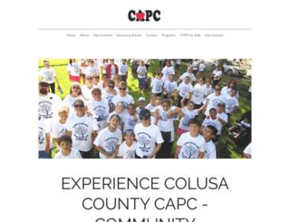 colusacapc.org screenshot