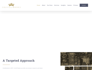 colvillbanks.com screenshot