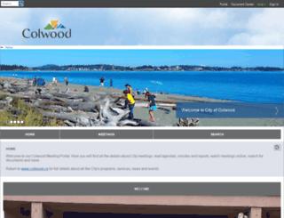 colwood.fileprosite.com screenshot