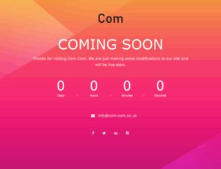 com-com.co.uk screenshot
