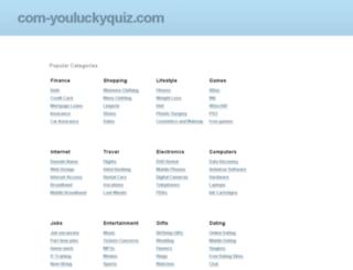 com-youluckyquiz.com screenshot