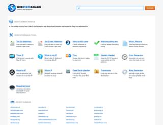 com.webstatsdomain.org screenshot