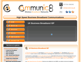 com8.org.uk screenshot
