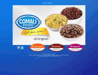 comalifoods.com screenshot