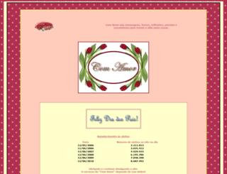 comamor.com.br screenshot