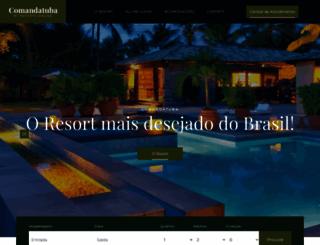 comandatuba.com.br screenshot