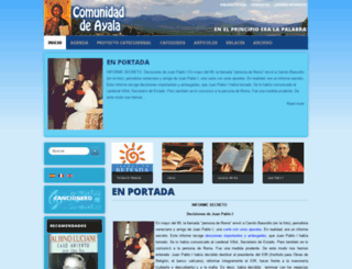 comayala.es screenshot
