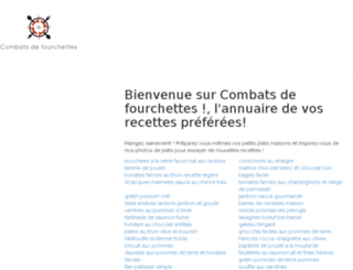 combatsdefourchettes.fr screenshot