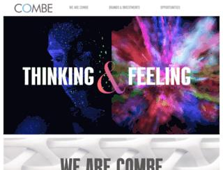 combe.com screenshot