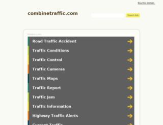 combinetraffic.com screenshot