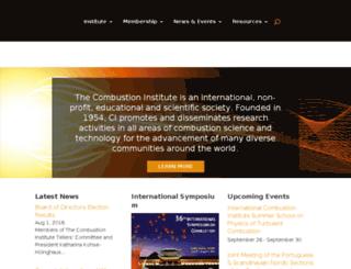 combustioninstitute.boxcarsandbox.com screenshot