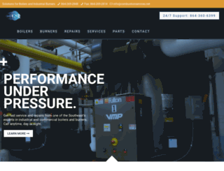 combustionservices.net screenshot