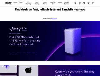 comcast.net screenshot
