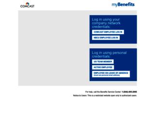 comcastbenefits.com screenshot
