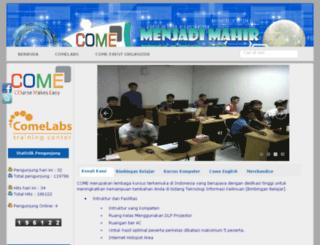 come-indonusa.com screenshot