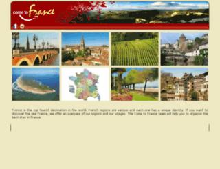 come-to-france.com screenshot