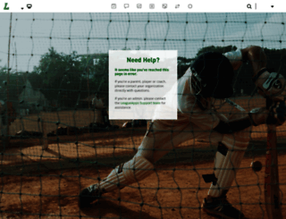 comeback.leagueapps.com screenshot