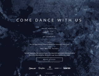comedancewithus.splashthat.com screenshot