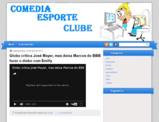 comediaesporteclubee.blogspot.com.br screenshot