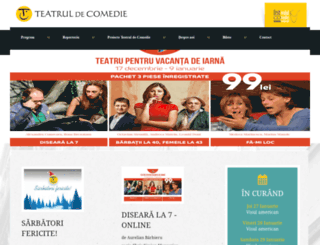 comedie.ro screenshot