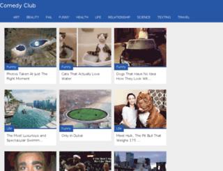 comedy-club.net screenshot