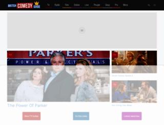 comedy.co.uk screenshot