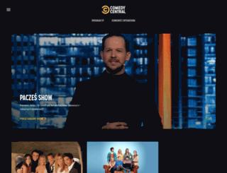 comedycentral.pl screenshot