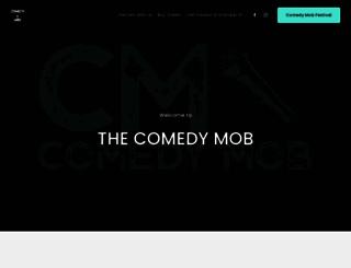 comedymob.com screenshot