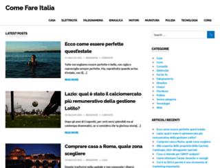 comefareitalia.com screenshot