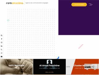 comenscene.com screenshot