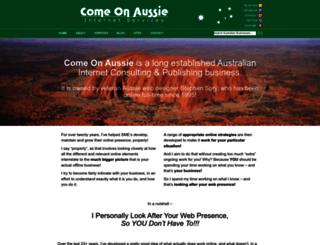 comeonaussie.net screenshot
