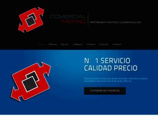 comercialmerino.es screenshot