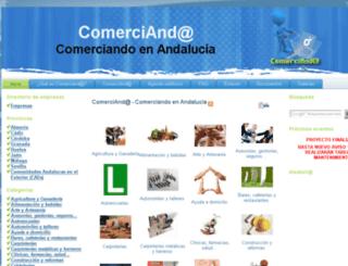 comercianda.es screenshot