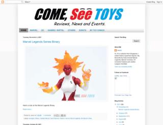 comeseetoys.blogspot.com.tr screenshot