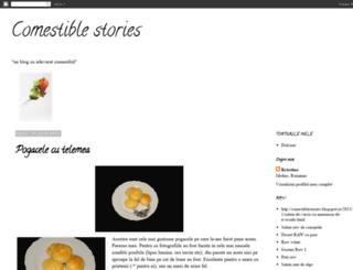 comestiblestories.blogspot.ro screenshot