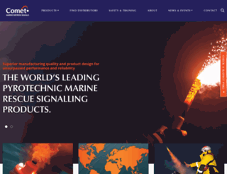 comet-marine.com screenshot