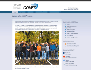 comet.ucar.edu screenshot