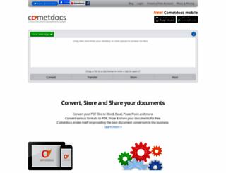 cometdocs.com screenshot